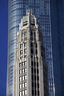 Club Quarters Building, Chicago, Illinois, America