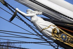Cutty Sark Clipper Ship Figurehead