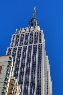The Empire State Building, New York. America