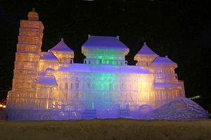 Fantastic Ice Sculptures at the 65th Sapporo Snow Festival 2014 in Japan