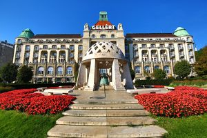 The Gellert Hotel and Spa in Budapest, Hungary