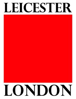 Graphic design, wordplay souvenir of Leicester Square, London, England