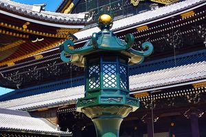 Higashi Honganji Temple, the Eastern Temple of the Original Vow, in Kyoto, Japan
