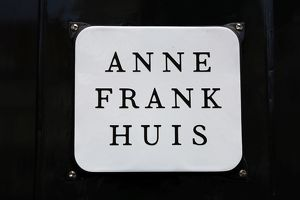 The house of Anne Frank in Amsterdam, Holland