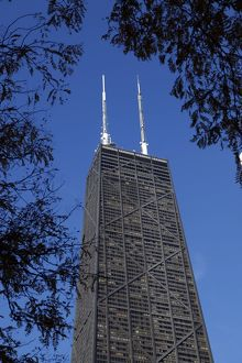 John Hancock Building, Chicago, Illinois, America