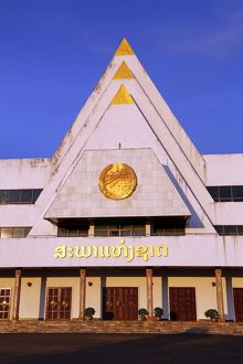 Laos National Assembly building, Vientiane, Laos
