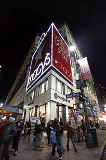 Macy's Department Store in New York