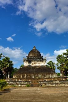 The That Makmo Stupa at Vat Visoun (aka Wat Wisunalat) Temple, Luang Prabang, Laos