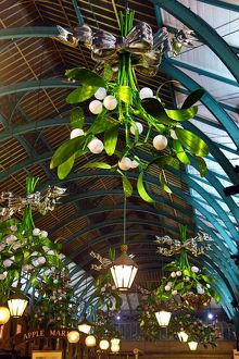 New Covent Garden Mistletoe Christmas Decorations in London
