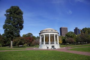 Parkman Bandstand on Boston Common