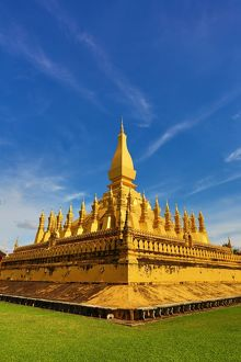 Pha That Luang gold Stupa, Vientiane, Laos