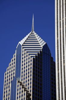 Two Prudential Plaza Building, Chicago, Illinois, America
