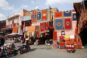 Rahba Quedima, the Old Square in the Souks, Marrakech, Morocco