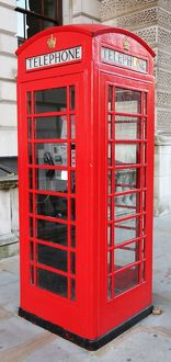 Red Telephone Box, London