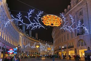 Regent Street Christmas Lights and decorations in London