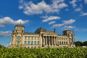 The Reichstag Building, Berlin, Germany