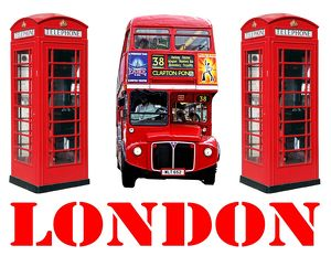 Souvenir Red London Double-Decker Routemaster Bus