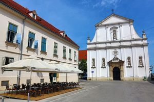 St. Catherine's Church in Zagreb, Croatia