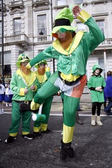 St Patrick's Day Parade London