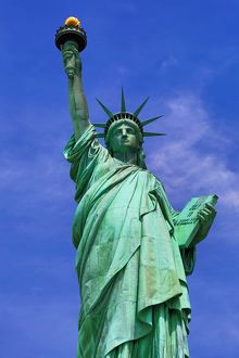 The Statue of Liberty, New York City, United States, USA