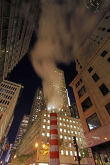 Steam Vent Pipes in New York