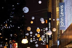 Switching on Oxford Street Christmas lights in London