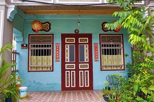 Traditional building, Georgetown, Penang, Malaysia