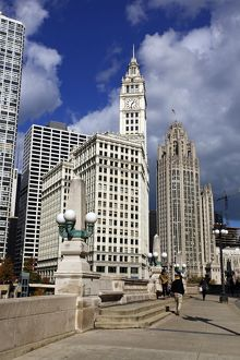 The Wrigley Building, Chicago, Illinois, America