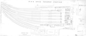 North Eastern Railway - Hull Paragon Station - General Plan [pre-1923]