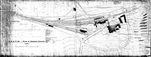 C.K. & P. Railway - Plan of Keswick Station [1883]
