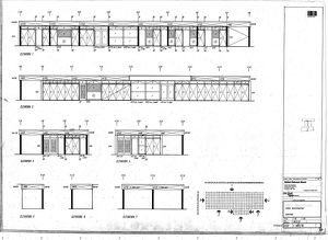 East Grinstead Station Reconstruction Elevations [c1970s]