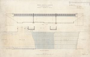 Edinburgh Waverley Station. North British Railway. Edinburgh Station 'Drawings of