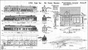 G.W.R Ebbw Vale New Station Buildings [1923]