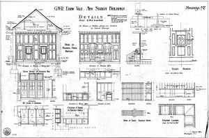 G.W.R Ebbw Vale New Station Buildings - Details [1923]