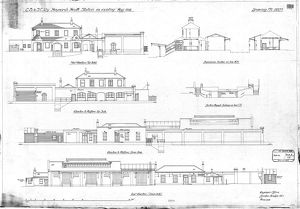 LB & SCR Haywards Heath Station as existing [1918]