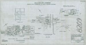 L.M.S. & G.W. Joint Longbridge - proposed office accomodation for goods and passenger department
