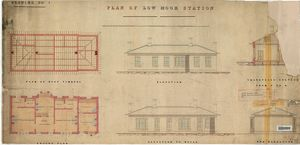 L&YR Low Moor Station - Plan, Section And Elevations [ND]