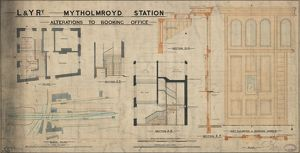 Mytholmroyd Station- alterations to booking office