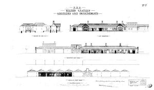 N.E.R Alnmouth [Bilton] Station - Additions and Alterations [1886]