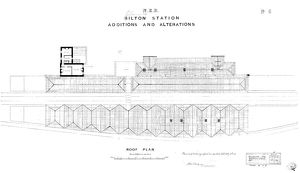 N.E.R Alnmouth [Bilton] Station - Additons and Alterations [1886]