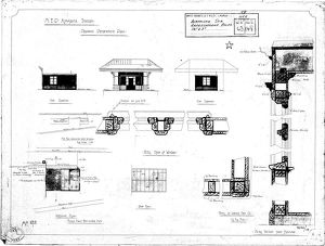 N.E.R Alnmouth Station - Proposed Refreshment Room [N.D]