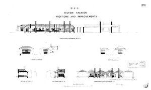 N.E.R Bilton [Alnmouth] Station - Additions and Alterations of Station [1886]