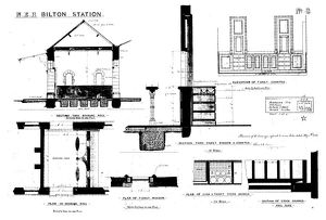 N.E.R Bilton [Alnmouth] Station - Additions to Booking Hall [1886]