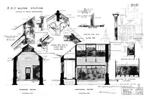 N.E.R Bilton [Alnmouth] Station Details of Public Conveniences [1886]