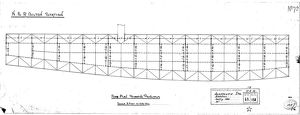 N.E.R Bilton [Alnmouth] Station Roof Plan Showing Principals [1886]