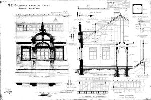 N.E.R Bishop Auckland - Former District Engineers Office [1901]