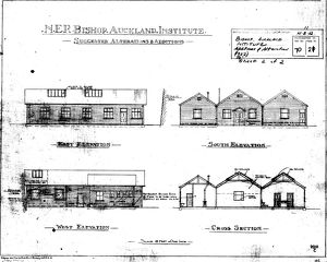 N.E.R Bishop Auckland Institute - Alterations and Additions [1922]