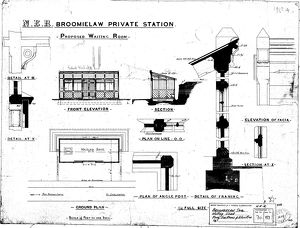 N.E.R Broomielaw Private Station - Proposed Waiting Room