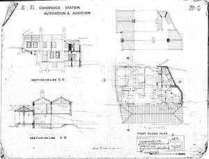 N.E.R Corbridge Station - Alteration and Addition Station and Stations Masters House [N.D]