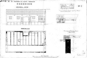 N.E.R Proposed New Goods Warehouse - Corbridge [N.D]